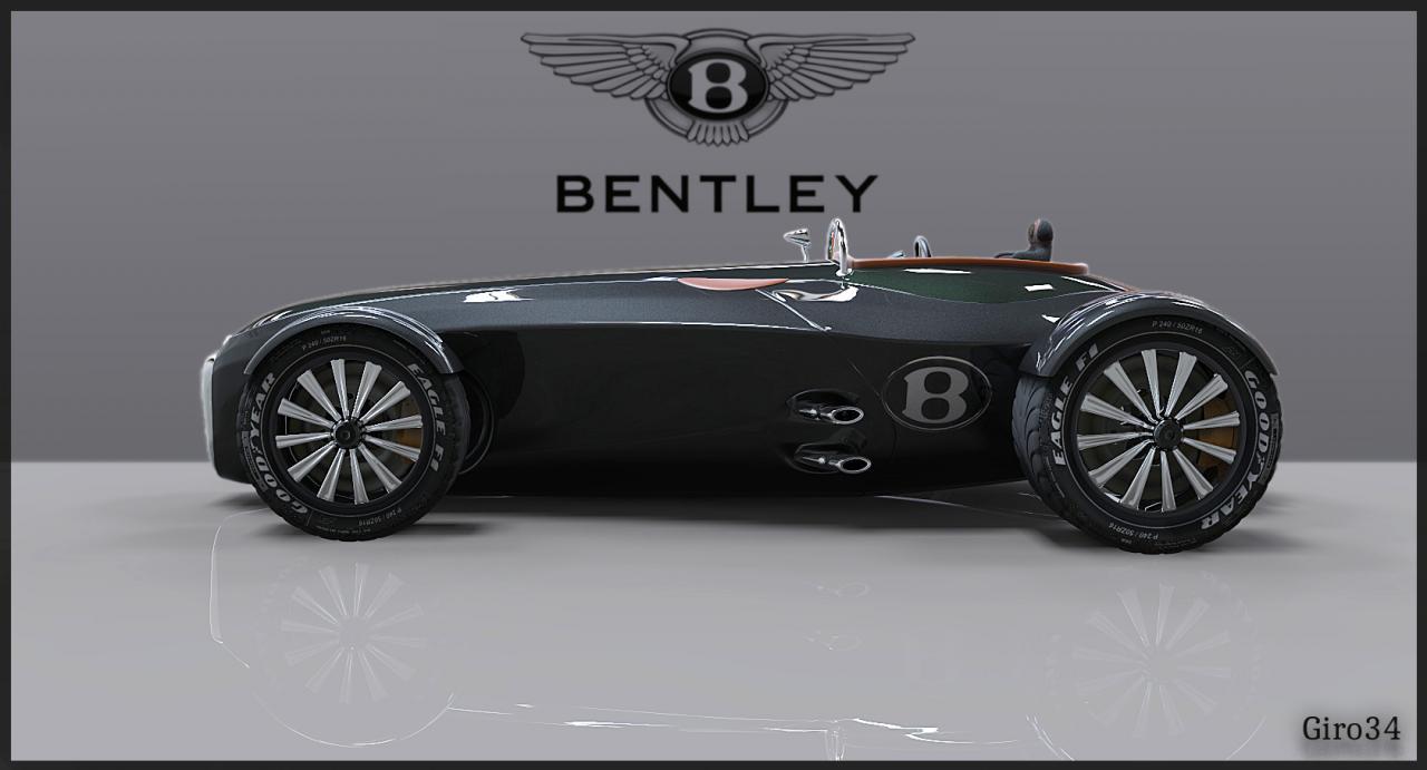 Bentley automobile 1935.