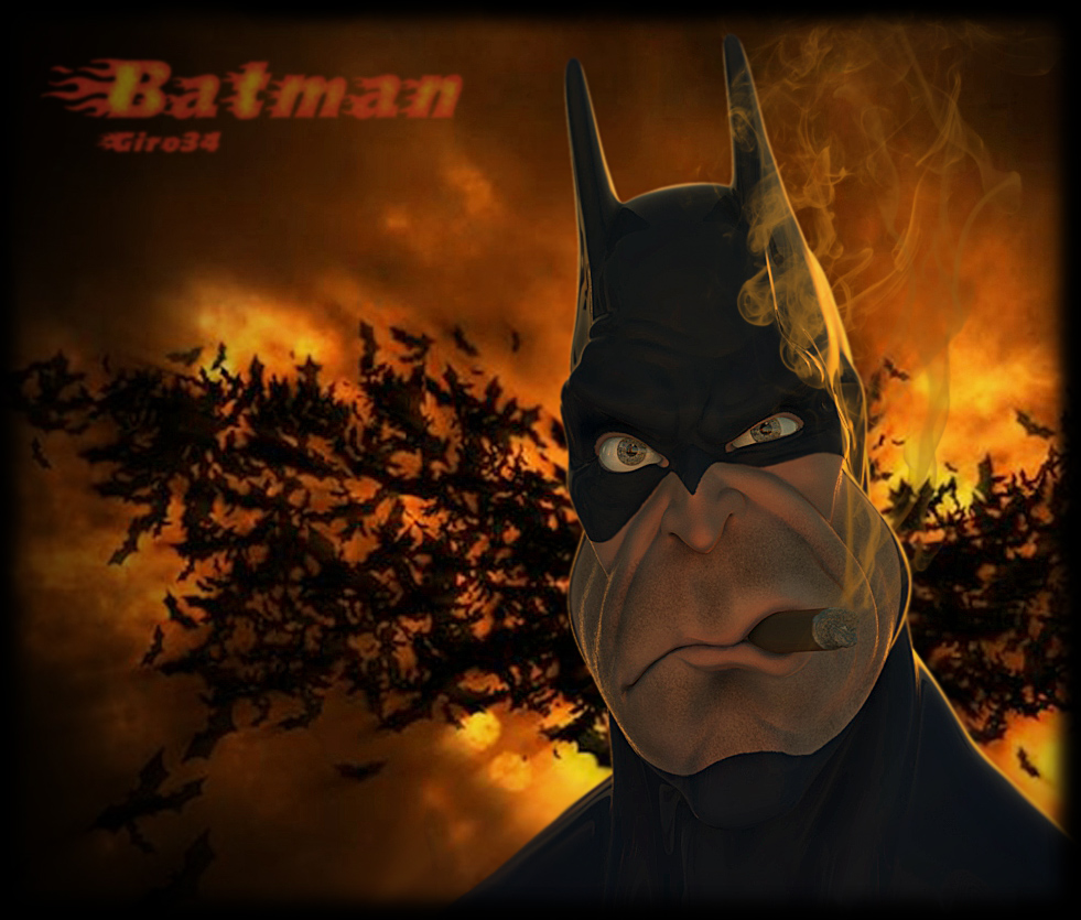 Caricature BATMAN
