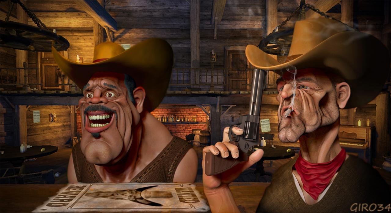 Saloon Cowboy