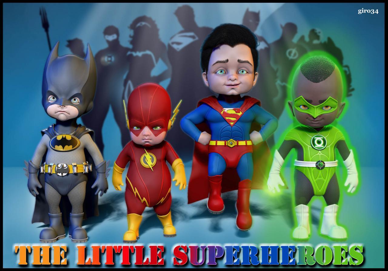 Mini Super Heros