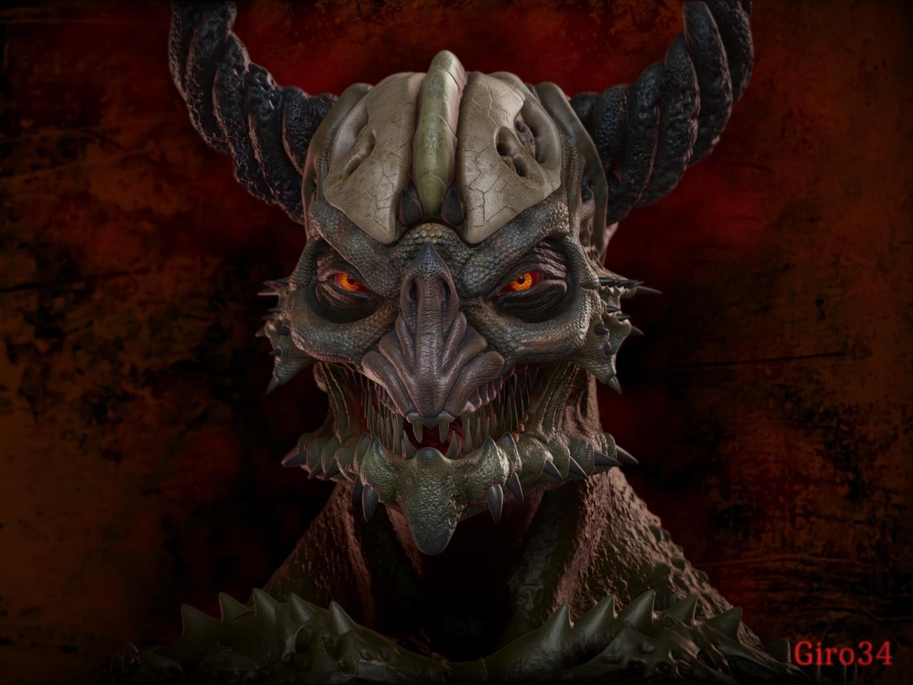 Demon ecorcheur .